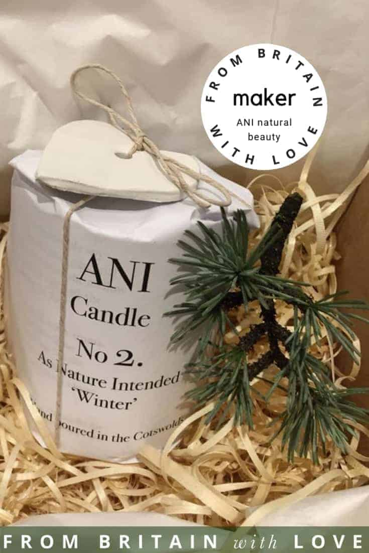love natural ethical beauty, skincare and candles by ANI, hand made in the Cotswolds. Click through to discover more about ANI and other hand-picked UK ethical makers