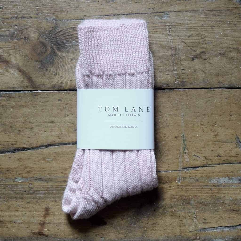love these tom lane alpaca bed socks from lewes map store. Click through for more ethical gift ideas for Christmas you'll love #ShopEhicalInstead #ethicalgifts #madeinbritain #frombritainwithlove #sustainablegifts #ethicalhour #plasticfree