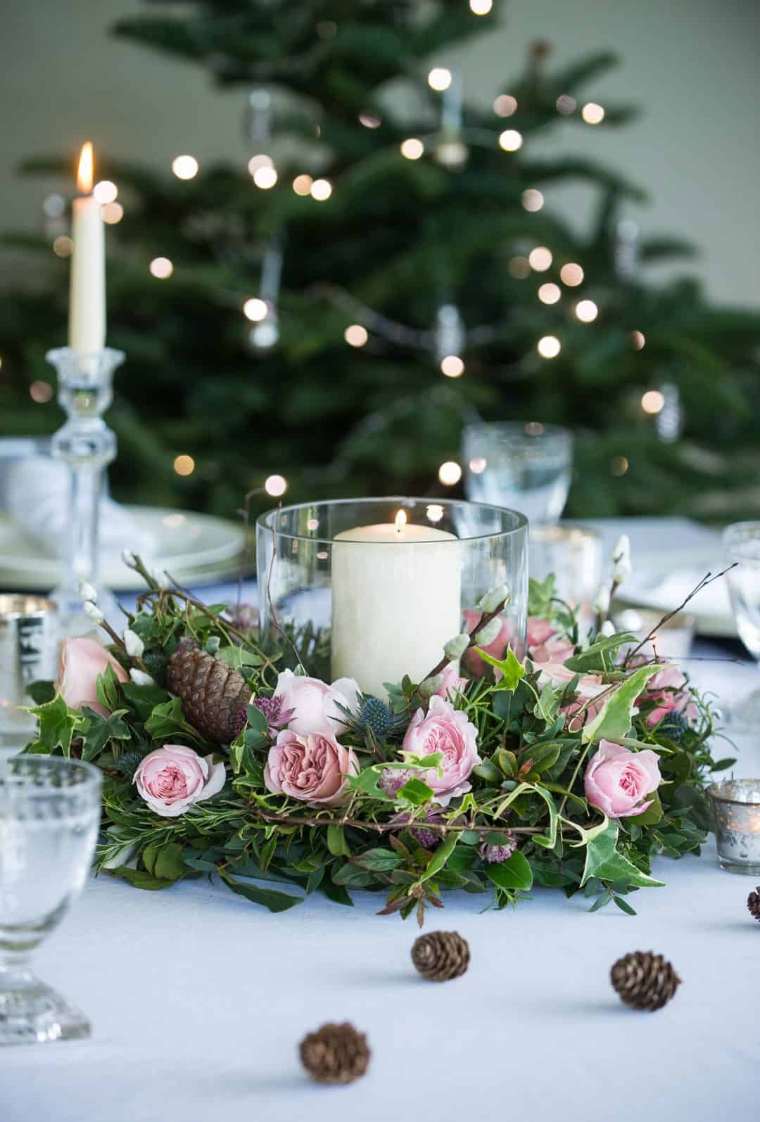 Christmas Flower Arrangements Simple Rustic Diy Ideas To Try From Britain With Love