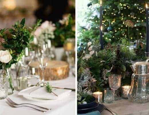 christmas flower arrangement ideas