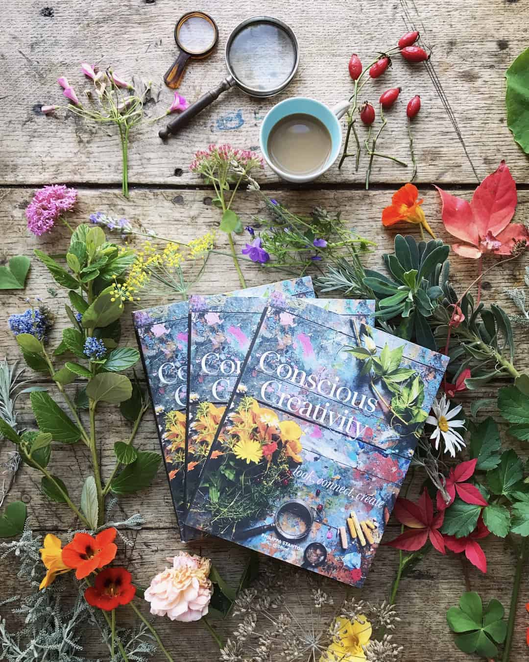 love this conscious creativity book by philippa stanton @5ftinf click through to find out more and see lots of inspiring creative images and ideas from this wonderful book