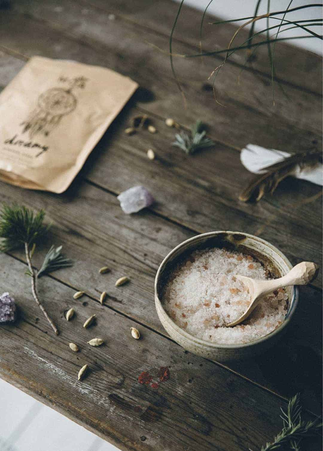 love this dreamy mineral bath soak by MOA from The Future Kept. Click through for more ethical gift ideas for Christmas you'll love .