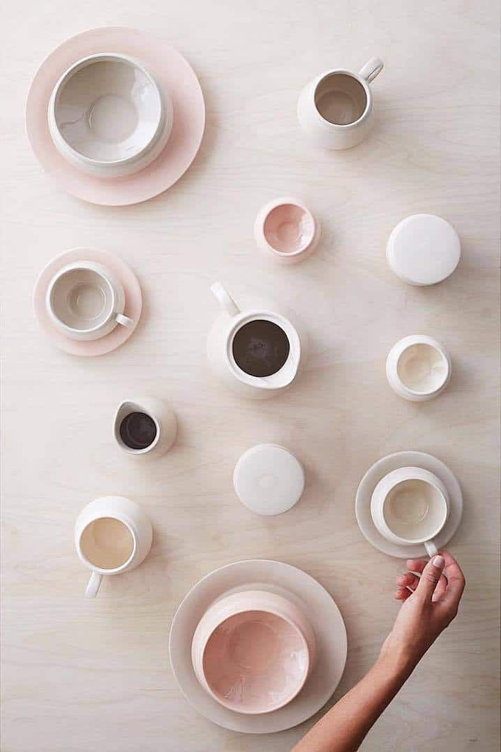 hend krichen ceramics - one of the wonderful local loves shared by Clem Balfour, founder of The Yoga Brunch Club. Click through to discover more of Clem's simple pleasures and inspirations