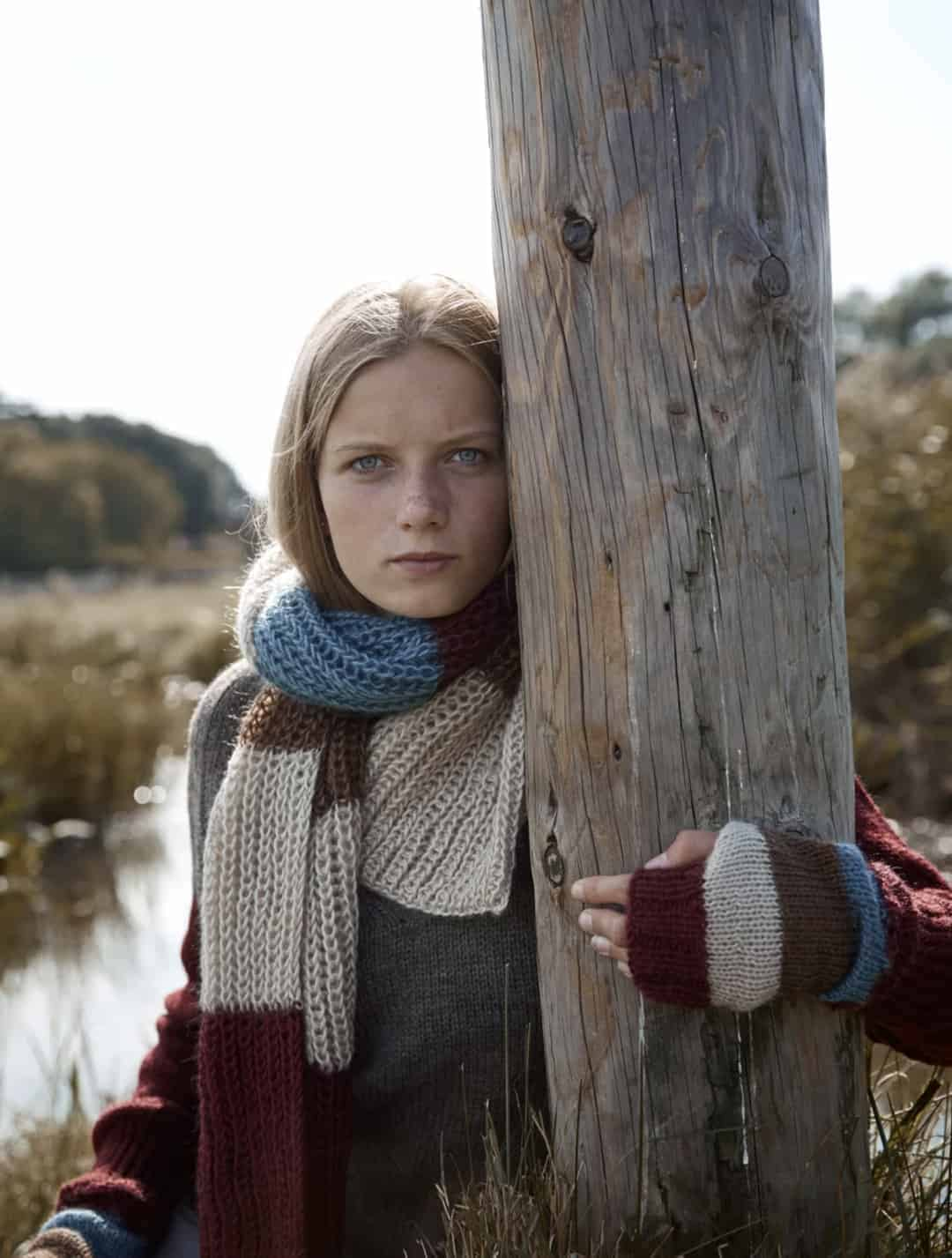 love this ethical wool scarf by izzy lane. Click through for more ethical gift ideas for Christmas you'll love