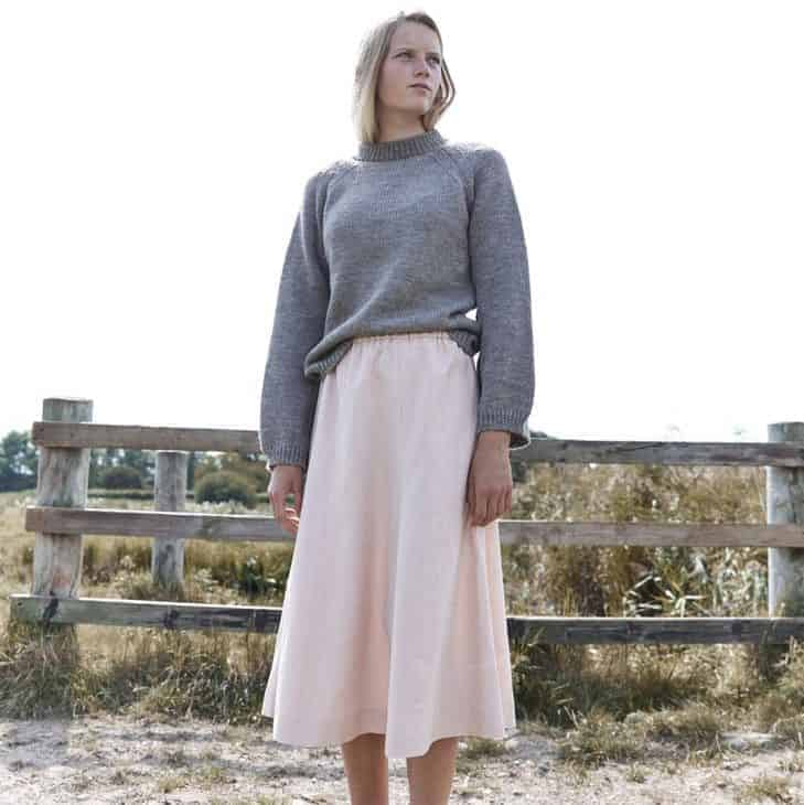 love this ethical grey wool handmade jumper made by Izzy Lane. Click through for more ethical gift ideas for Christmas you'll love
