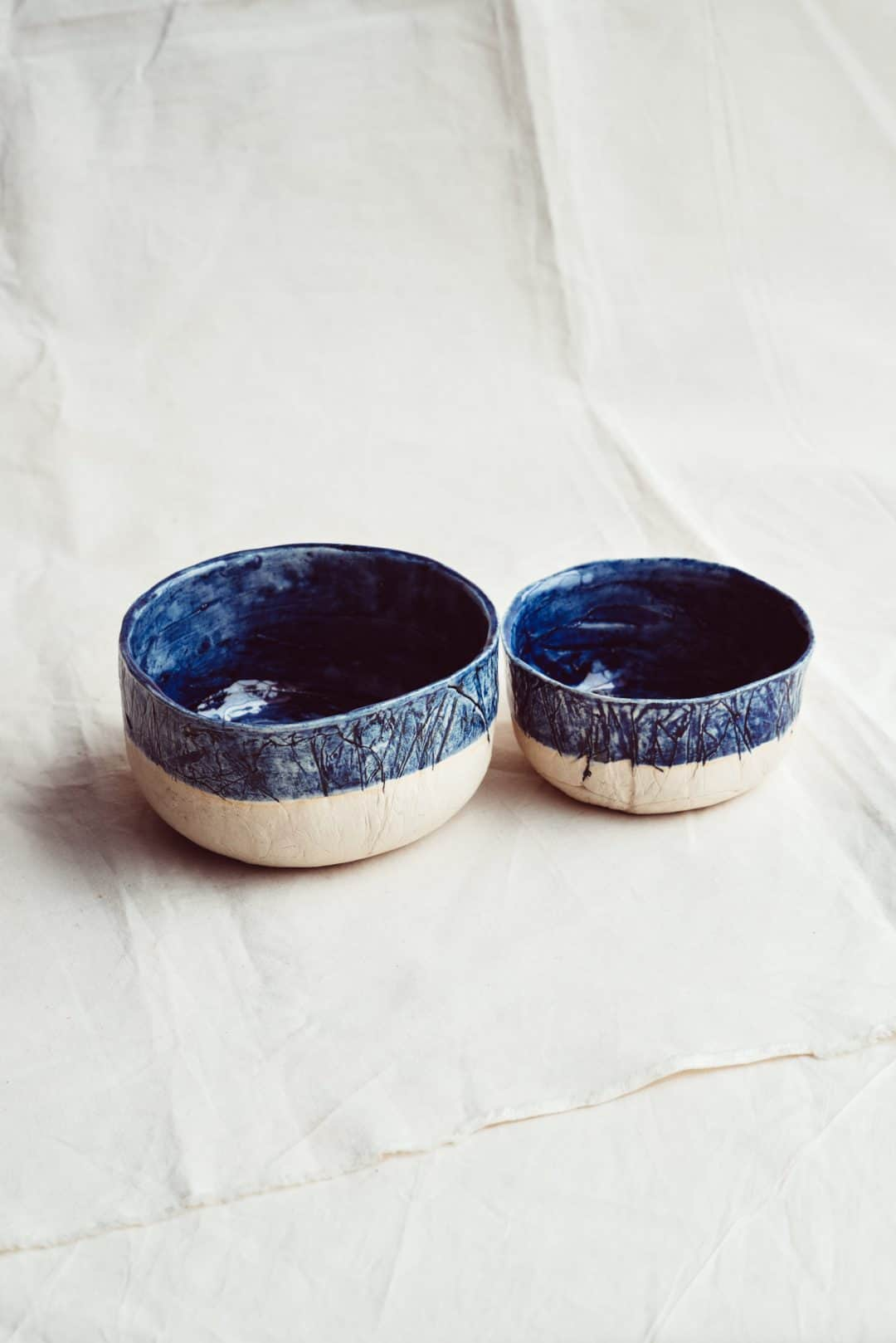 love this handmade blue ceramic breakfast bowl by kana london - one of the wonderful local loves shared by Clem Balfour, founder of The Yoga Brunch Club. Click through to discover more of Clem's simple pleasures and inspirations