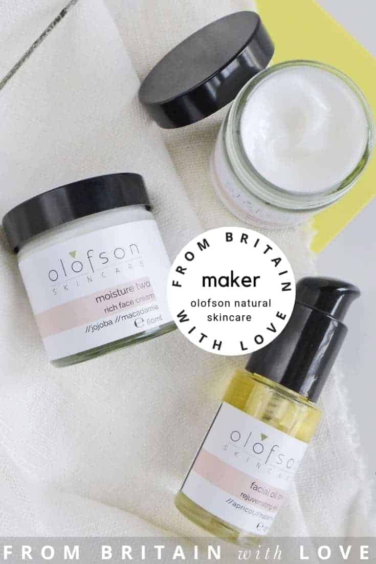 love natural ethical beauty, skincare and candles by Olofson skincare, hand made in the UK. Click through to discover more about Olofson Skincare and other hand-picked UK ethical makers