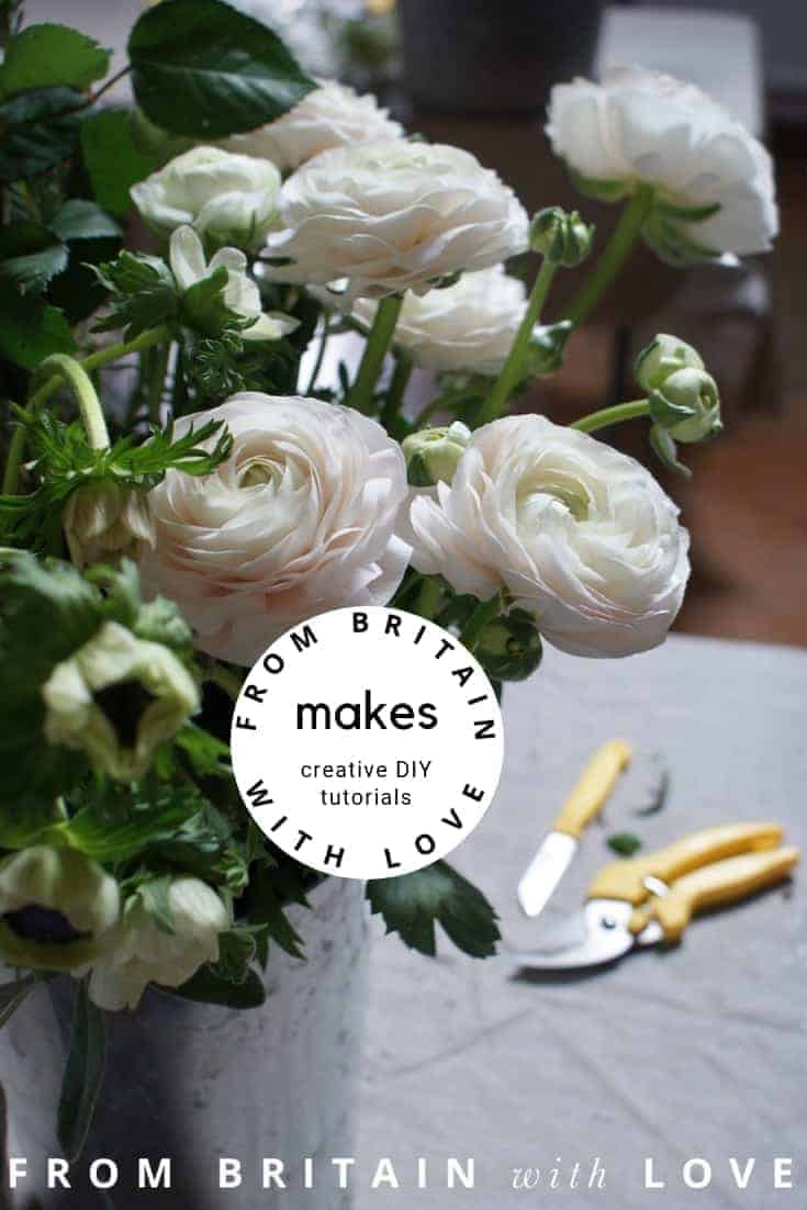 how to make creative DIY craft tutorials you'll love to make - from fresh flower designs to sewing, cookery, calligraphy, screen printing and other crafts
