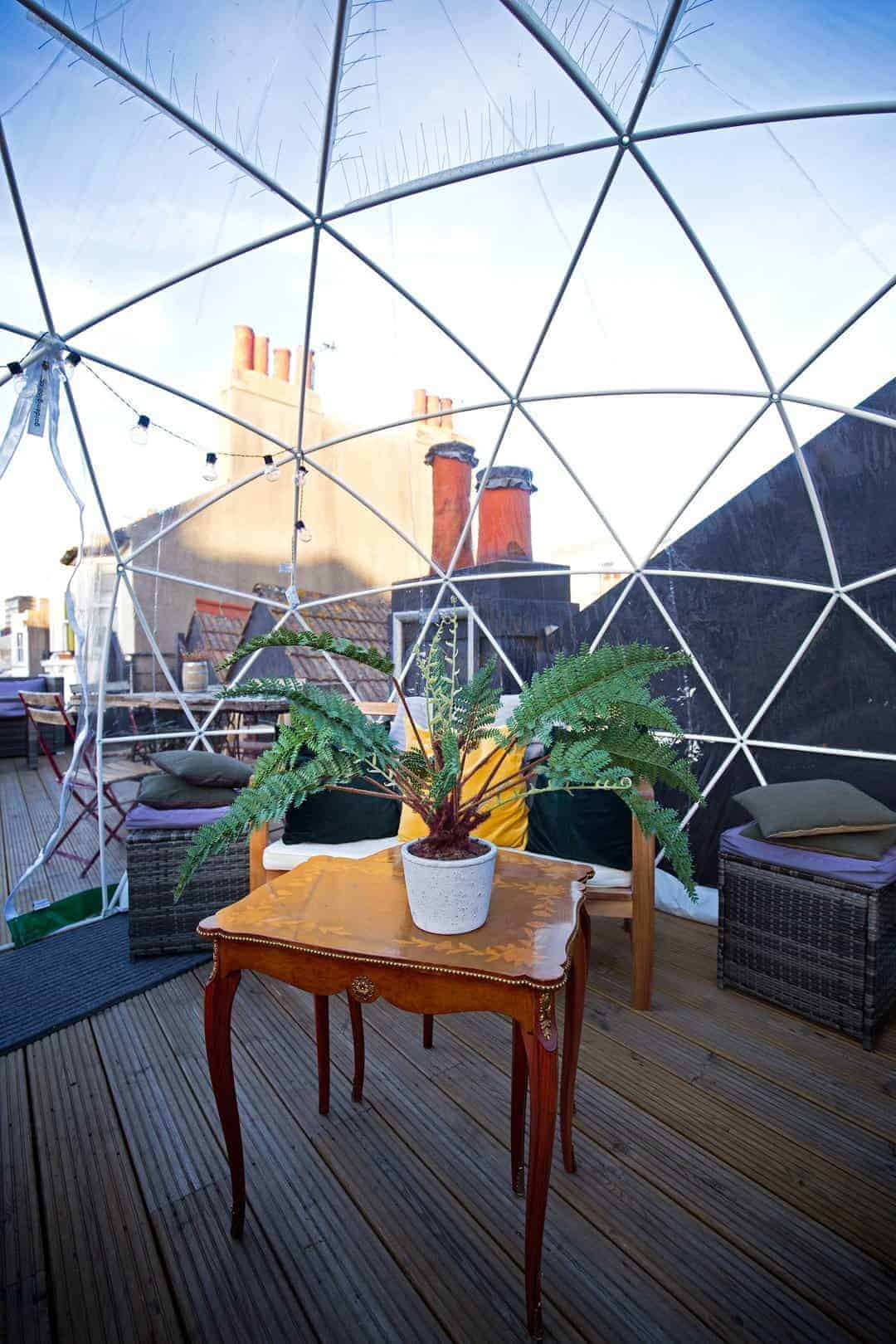 love the roof terrace of l'atelier du vin in brighton. one of Sussex Flower School founder, Georgia Miles' local loves. Click through to discover her other simple pleasures and great local finds