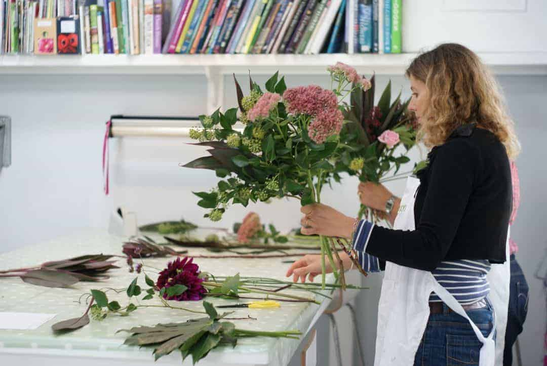 sussex flower school workshop
