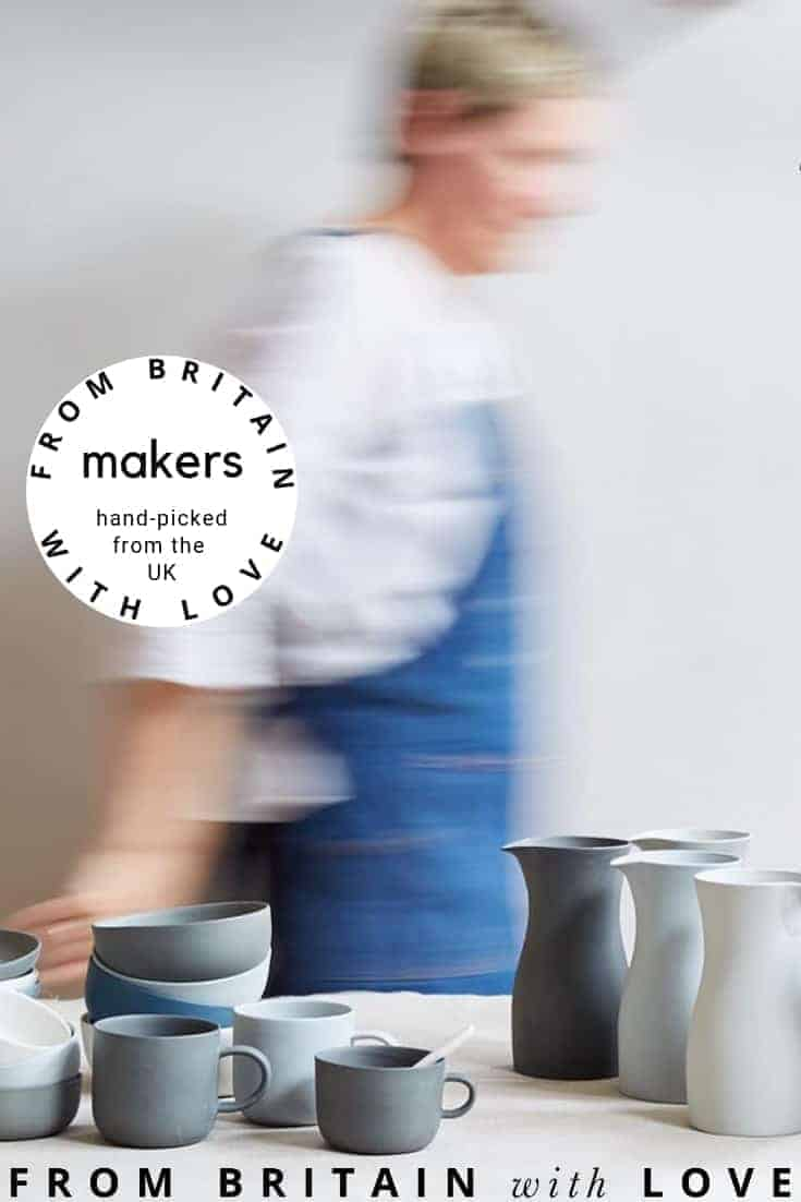 find hand-picked UK makers and ethical producers in our beautiful directory. From slow and simply beautiful fashion to handmade ceramics, natural beauty, organic babywear and so much more. Click through to browse our directory and find wonderful makers and producers around Britain