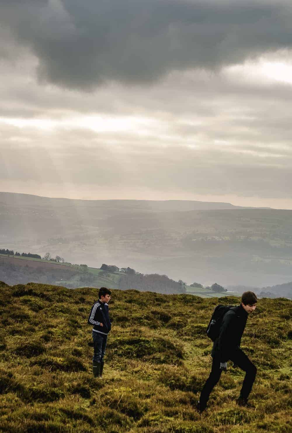 walking in the brecon beacons in wales near the black mountains between Abergavenny and Llanthony. Click through to see more images from our stay as well as inside shots of beautiful modern rustic Patrishow Farm where we stayed