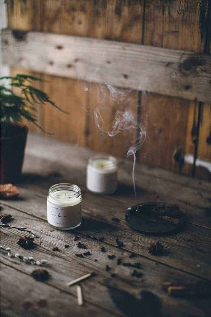 love this Ember hand poured coconut wax eco candle by Evermore London from The Future Kept. Click through to discover other special handmade natural soy and zero waste refillable candles you'll love