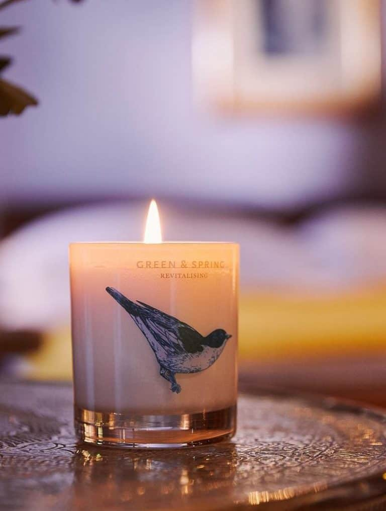 love this natural revitalising aromatherapy natural wax candle by Green & Spring with essential oils of peppermint, rosemary and fennel to stimulate and revive the senses. Click through to discover other special handmade natural soy and zero waste refillable candles you'll love