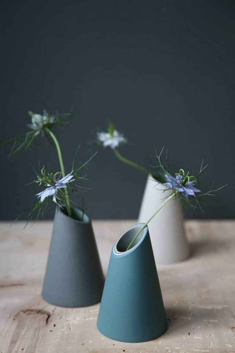 love handmade ceramic vases by Jill Shaddock - one of one of the simple pleasures and local loves of Sarah Statham, founder of Simply by Arrangement flowers in Hebden Bridge. Click through to discover Sarah's other wonderful local loves #jillshaddock #ceramics #yorkshire #flowerdesign #frombritainwithlove