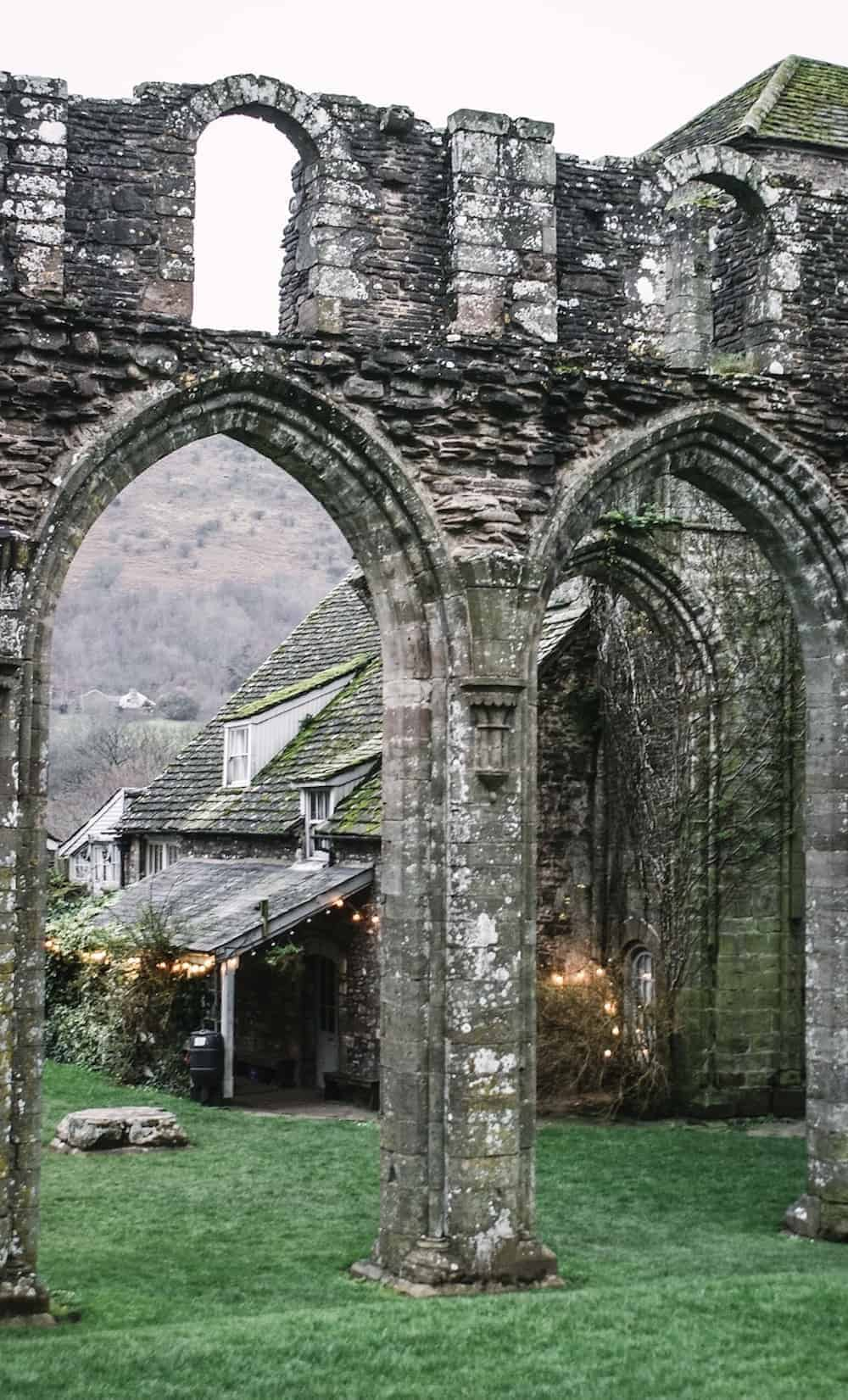loved the ruins at Llanthony priory in the Brecon Beacons national park in wales. Click through to see more images from our stay as well as inside shots of beautiful modern rustic Patrishow Farm where we stayed