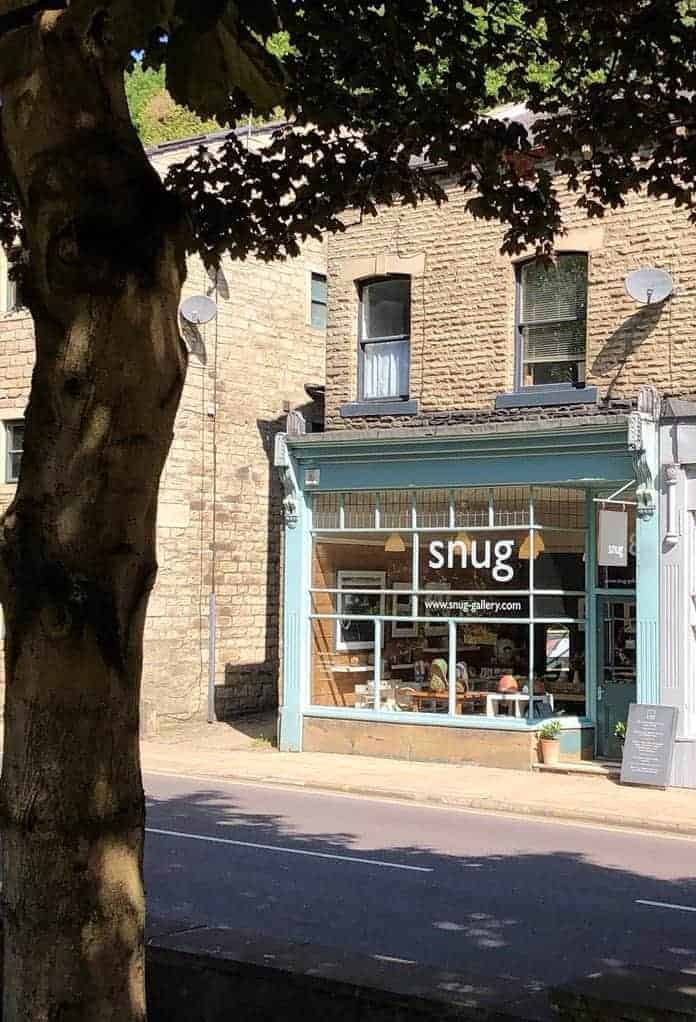 Snug Gallery Hebden Bridge in bronte country yorkshire - one of the simple pleasures and local loves of Sarah Statham, founder of Simply by Arrangement flowers in Hebden Bridge. Click through to discover Sarah's other wonderful local loves #haworth #yorkshire #brontecountry #frombritainwithlove