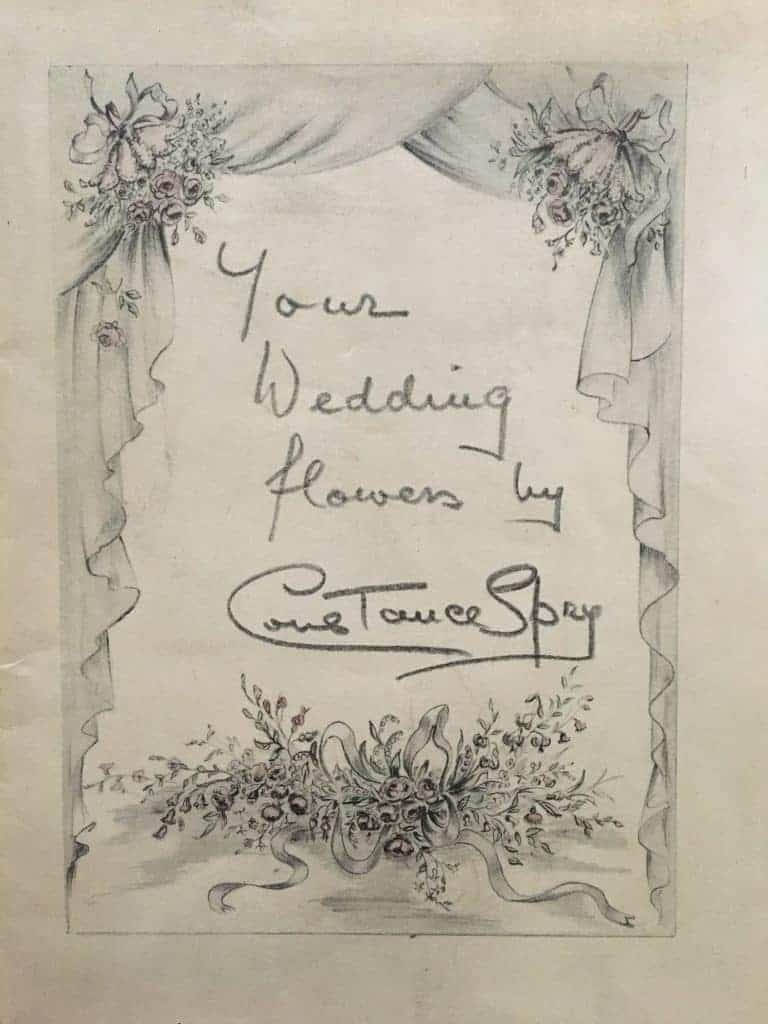 love this your wedding flowers book cover by constance spry - one of one of the simple pleasures and local loves of Sarah Statham, founder of Simply by Arrangement flowers in Hebden Bridge. Click through to discover Sarah's other wonderful local loves #haworth #yorkshire #constancespry #flowerdesign #frombritainwithlove