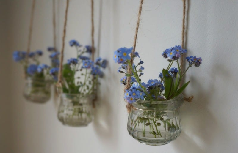 botanical-tales-craft-diy-Forget-me-notsinvases