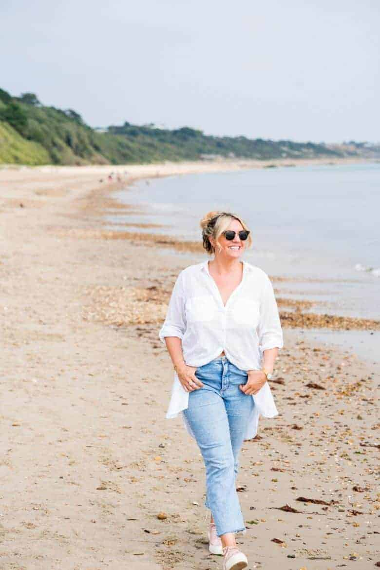 beth coldrick founder of ethical skincare range BAO skincare handmade in Dorset using aromatherapy and pure organic natural ingredients. Click through to find out more and to discover one or two of Beth's local Dorset loves