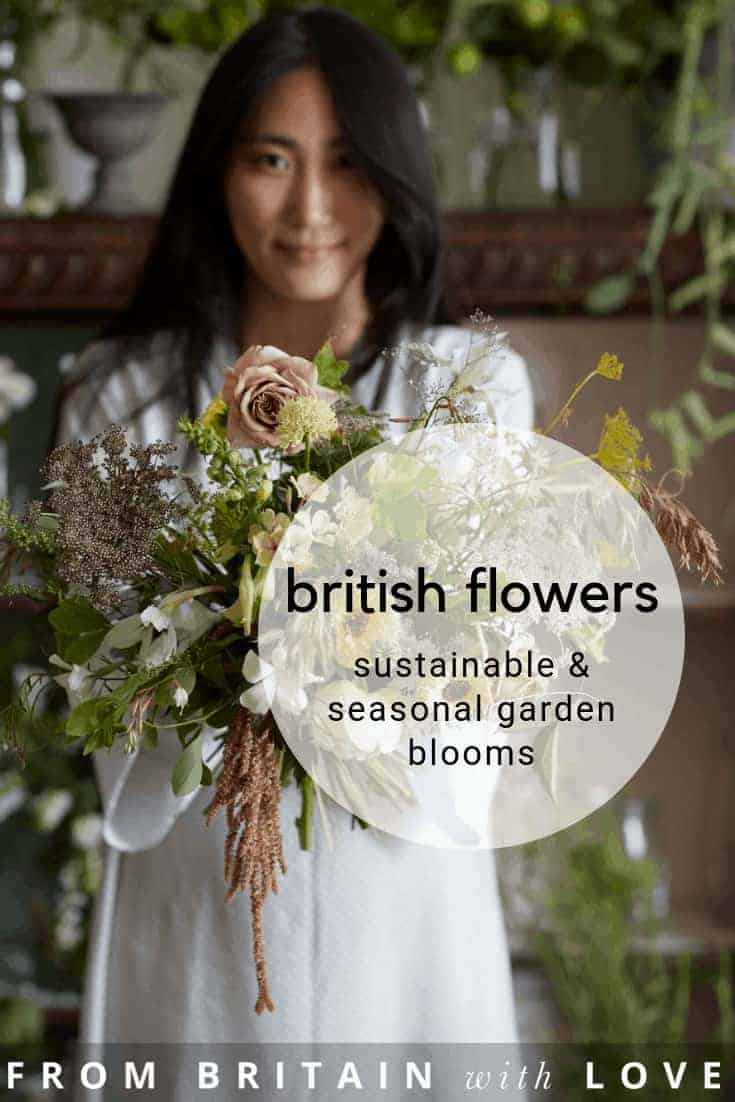 love wild bunch sustainable british flowers - a cutting garden, flower workshop venue and creative florists in Shropshire near the Welsh hills and passionate about seasonal and sustainable British flowers including garden roses, sweet peas, foxglove, cottage garden plants and more. Click through to get all the details you need to connect with Wild Bunch #britishfowers #sustainable #seasonal #slowflowermovement #frombritainwithlove #englishflowers #roses #gardenflowers #homegrown