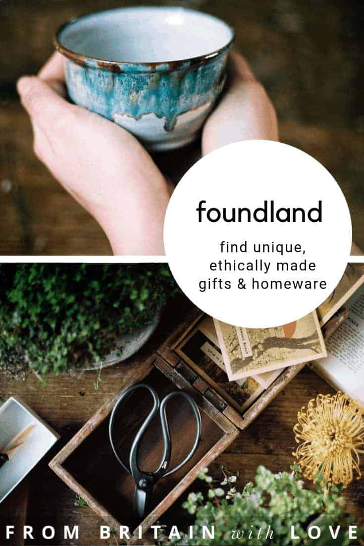 love foundland ethical homeware and gifts carefully curated from UK Makers as well as from craftspeople in Japan and around the world. All unusual, interesting, well made and worthwhile. Click through to meet founders Sarah and Arthur who share their inspirations, local loves and simple pleasures #madeinengland #handmade #ethicalhomeware #madeinjapan #frombritainwithlove #foundland