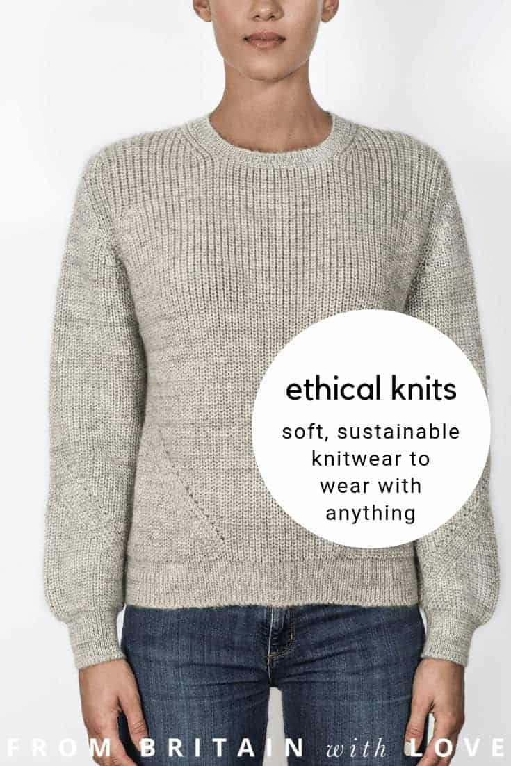 love these luxury ethical knits and sustainable knitwear handmade in eco certified natural yarns such as british alpaca, certified cashmere and merino wool, british bluefaced leicester wool and organic superfine merino. Click through to get all the info you need to connect with Ally Bee #sustainablefashion #ethicalfashion #ethicalwool #handknitted #eco #fashion #knitwear #frombritainwithlove #madeinbritain
