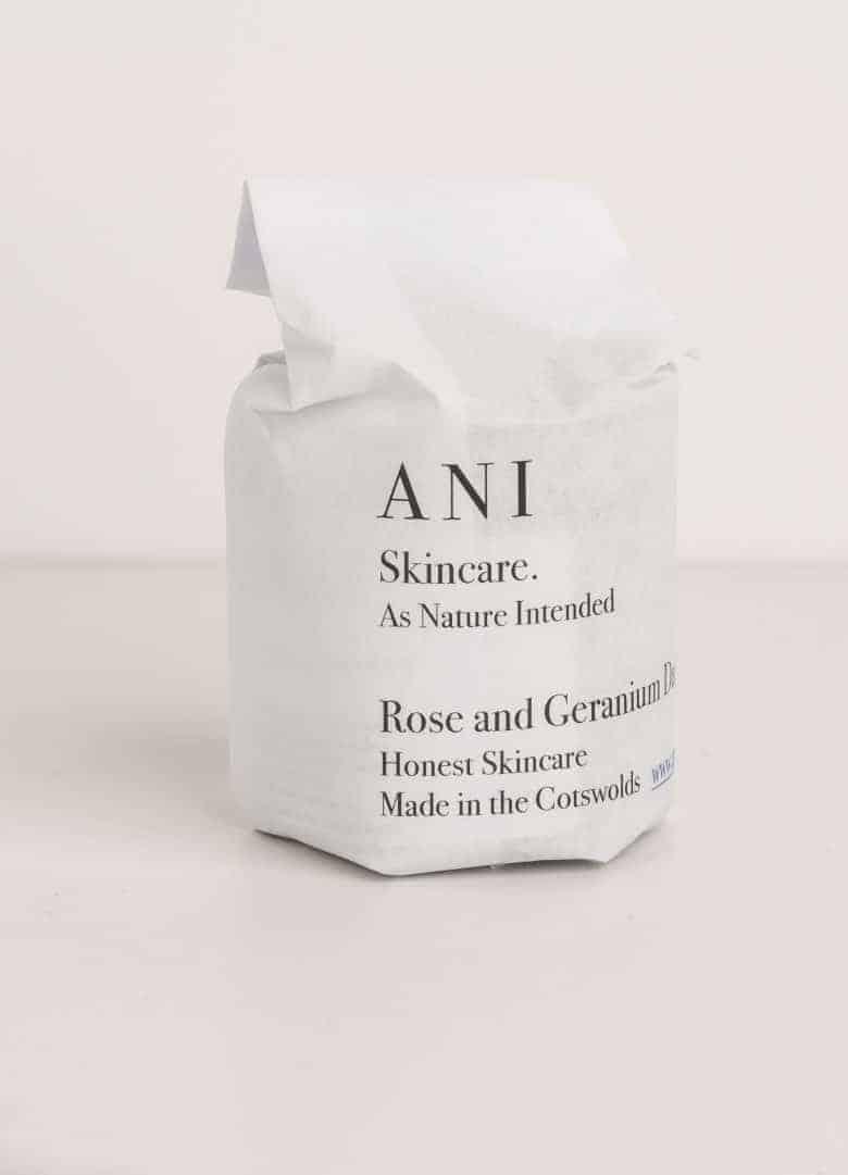 love this natural rose geranium daily moisturiser handmade in the Cotswolds by ANI Skincare ethical beauty made in Britain using organic pure ingredients that are kind to your skin and the environment. Click through to find our more and to discover other wonderful ethical beauty and natural handmade skincare made in the UK #ethicalbeauty #naturalbeauty #ethicalskincare #ethicalbeauty #madeinbritain #frombritainwithlove #handmade #ecofriendly #dailymoisturiser