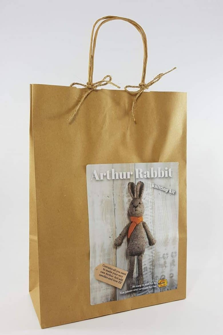 arthur rabbit knitting pattern kit