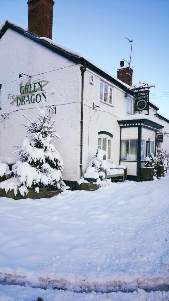 green dragon little stretton shropshire