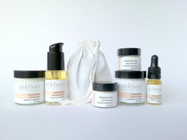 olofson ethical natural skincare made in england