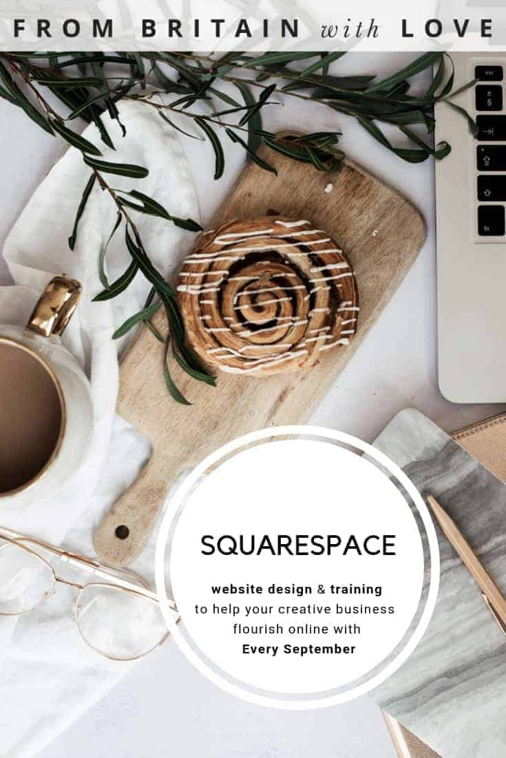click through to discover every september squarespace website design and training services - the perfect package of courses, workshops and one to one sessions to help creative businesses to achieve a beautiful, effective squarespace website and flourish online. With a brilliant website design that works, making a living from doing what you love really can be a dream come true. click through for all the details you need #squarespace #websitedesign #creativebusiness #frombritainwthlove #webdesign #workshops #training