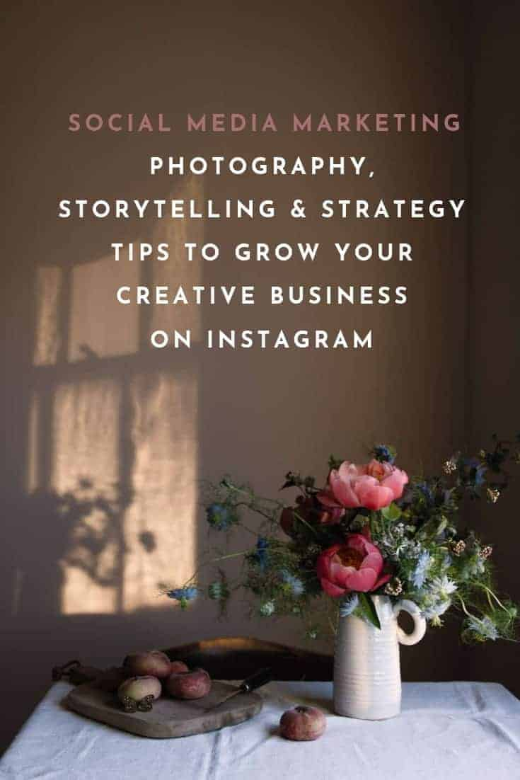 social media marketing, photography advice and strategy help from hand-picked experts for Instagram, Facebook, Twitter, Steller and Pinterest. Creative business success depends on finding a strong, creative voice and confidence on Instagram and beyond, and I love the inspirational ecourses and workshops by Sara Tasker of Me & Orla. Click through for 10 essential tips and creative business ideas to help you make a living from doing what you love #creativebusiness #businessadvice #tips #ideas #experthelp #creatives #frombritainwithlove #photography #makers #instagram #meandorla #instaretreat #instahelp