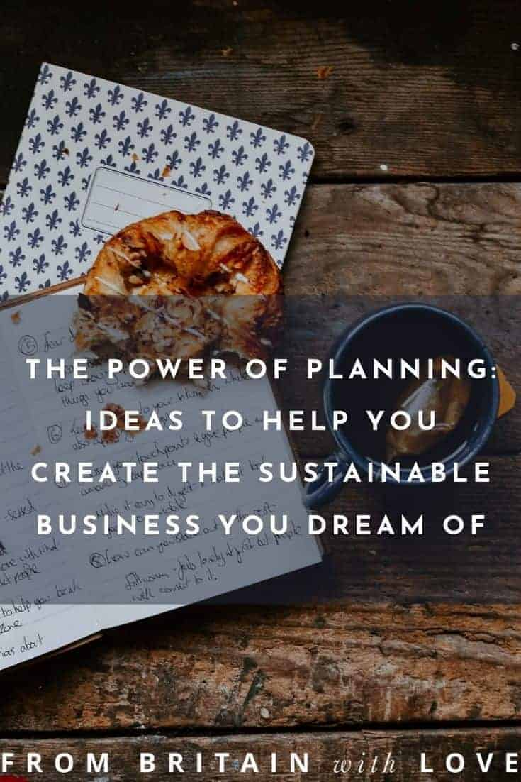 Creative business ideas - the power of planning to help you create the sustainable business you dream of. click through for expert tips and ideas to organise your time and yourself and allow your business to grow and succeed. Live the life you dream of and make a living from doing what you love #creativebusiness #planning #asana #frombritainwithlove #advice #tips #motivation