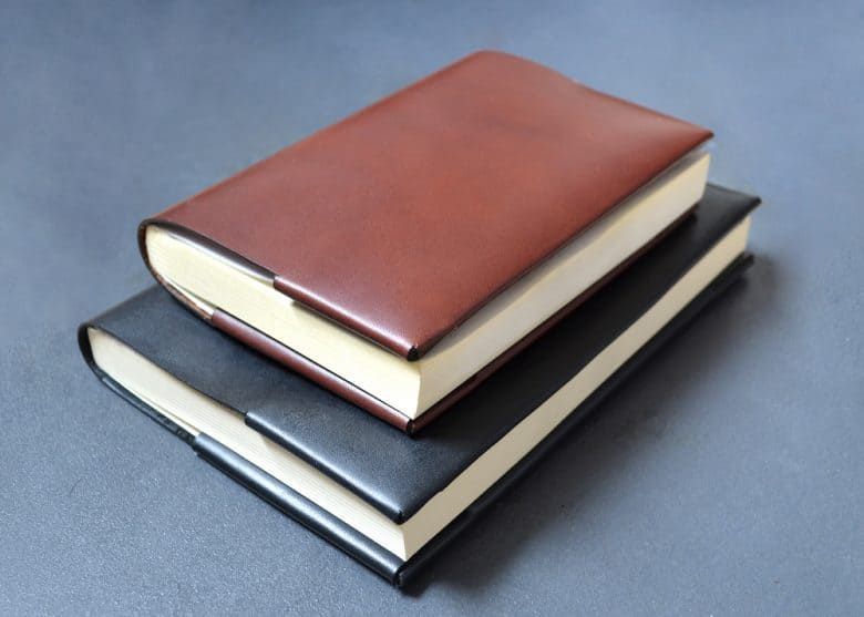 bond and knight handmade natural ethical vegetable leather notebooks