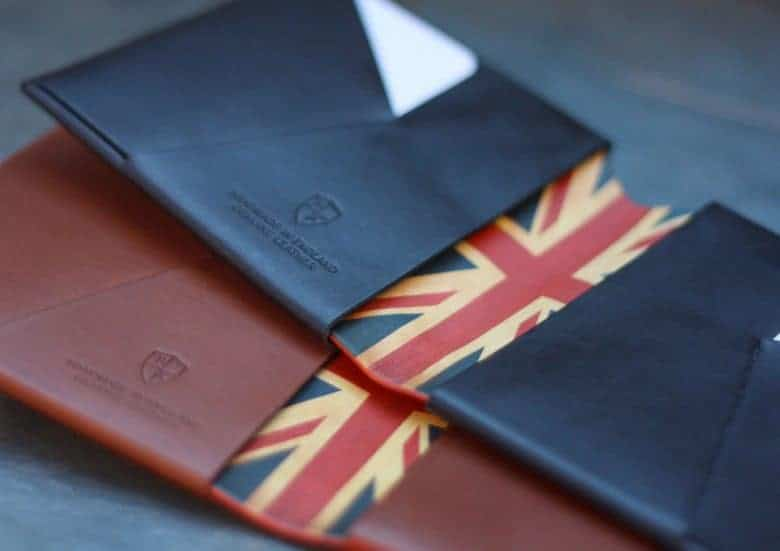bond and knight handmade natural ethical vegetable leather wallets