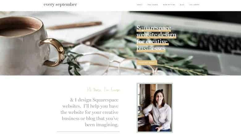creating a squarespace website is one great way to build a successful creative business. Click through for 10 essential tips and expert creative business ideas to help you make a living from doing what you love #creativebusiness #businessadvice #tips #ideas #experthelp #creatives #frombritainwithlove #squarespace
