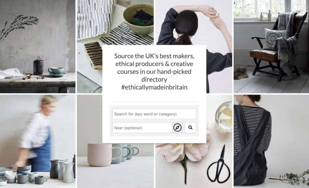 website design ideas from britain with love
