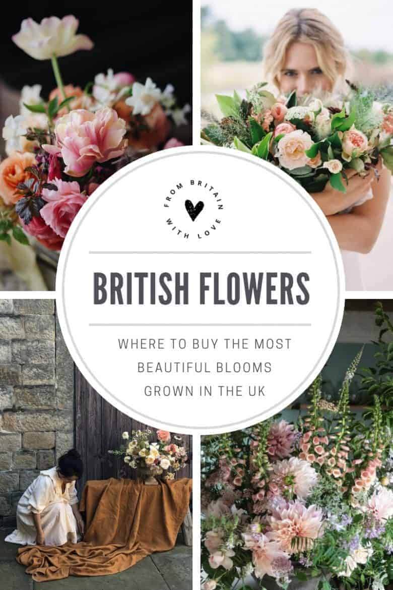 where to buy the most beautiful british flowers - click through to discover seasonal and sustainable flowers and foliage grown in the UK by our favourite growers and available from the most creative florists and floral designers #britishflowers #sustainable #growninuk #britishgrowers #frombritainwithlove #ecofriendly