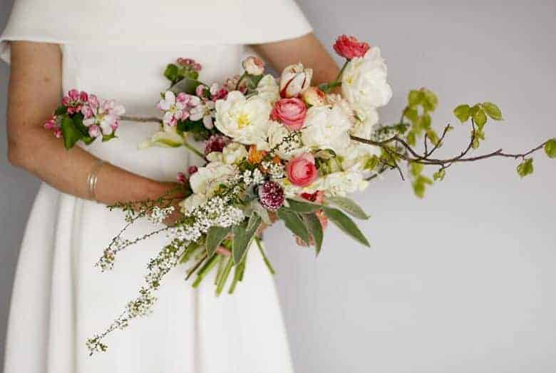 seasonal british wedding flowers