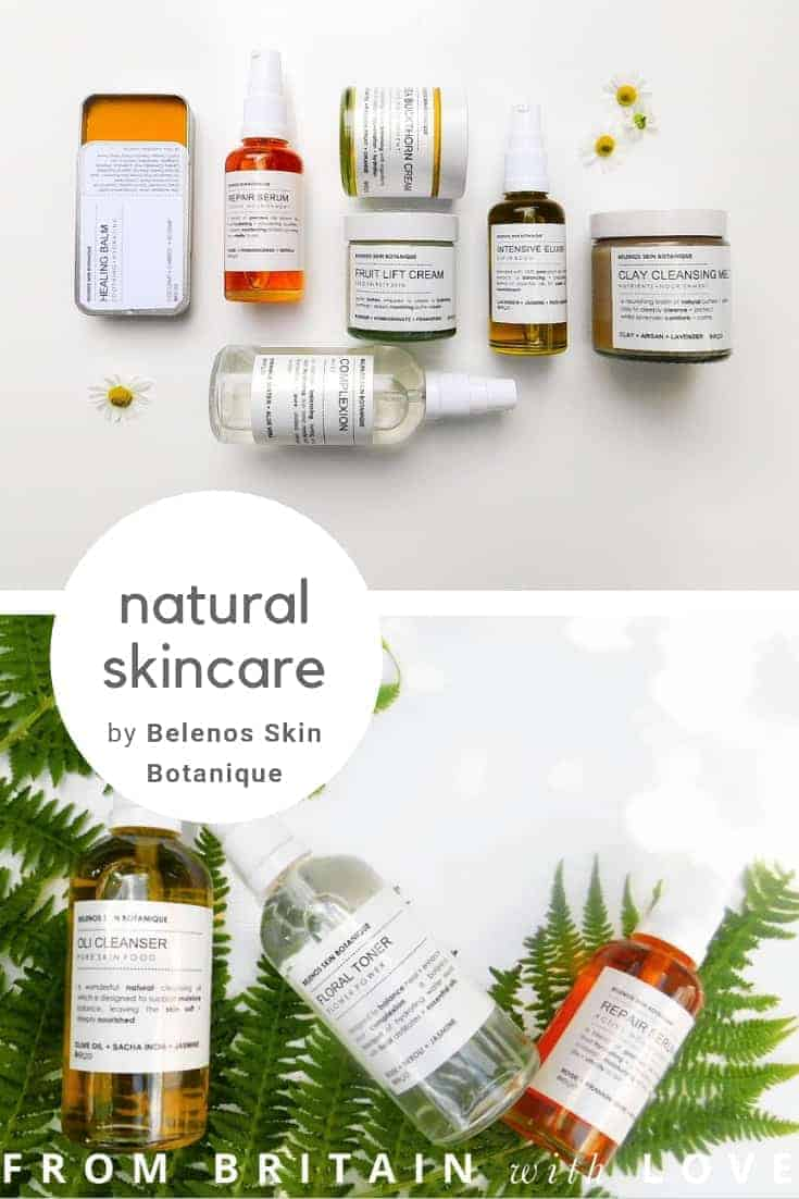 love belenos skin botanique botanical natural and ethical skincare made in UK. Click through to get all the info you need to give your skin the sustainable,natural and blissful care it craves #sustainable #ethicalbeauty #madeinbritain #frombritainwithlove