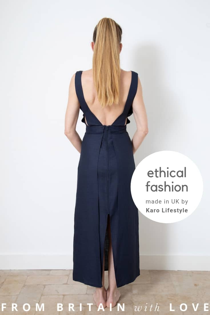 karo lifestyle ethical clothing made in UK using eco friendly sustainable natural fabrics and made to last. Click through to discover this beautiful collection of linen and natural fibre contemporary and stylish clothing #sustainablefashion #ethicalclothing #frombritainwithlove #madeinbritain #madeinuk