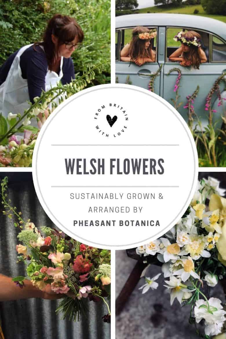 love pheasant botanica sustainable flowers grown in wales for welsh weddings, events and more. Click through to meet Donna Bowen-Heath who grows her flowers on her family farm in the welsh hills. #welshflowers #growninwales #sustainableflowers #frombritainwithlove #seasonal #britishflowers
