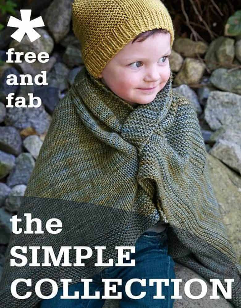 simple collection knitting patterns by tincan knits free patterns for children and adults including hats, socks, blankets, sweaters and more #free #knitting #patterns #tincanknits #frombritainwithlove