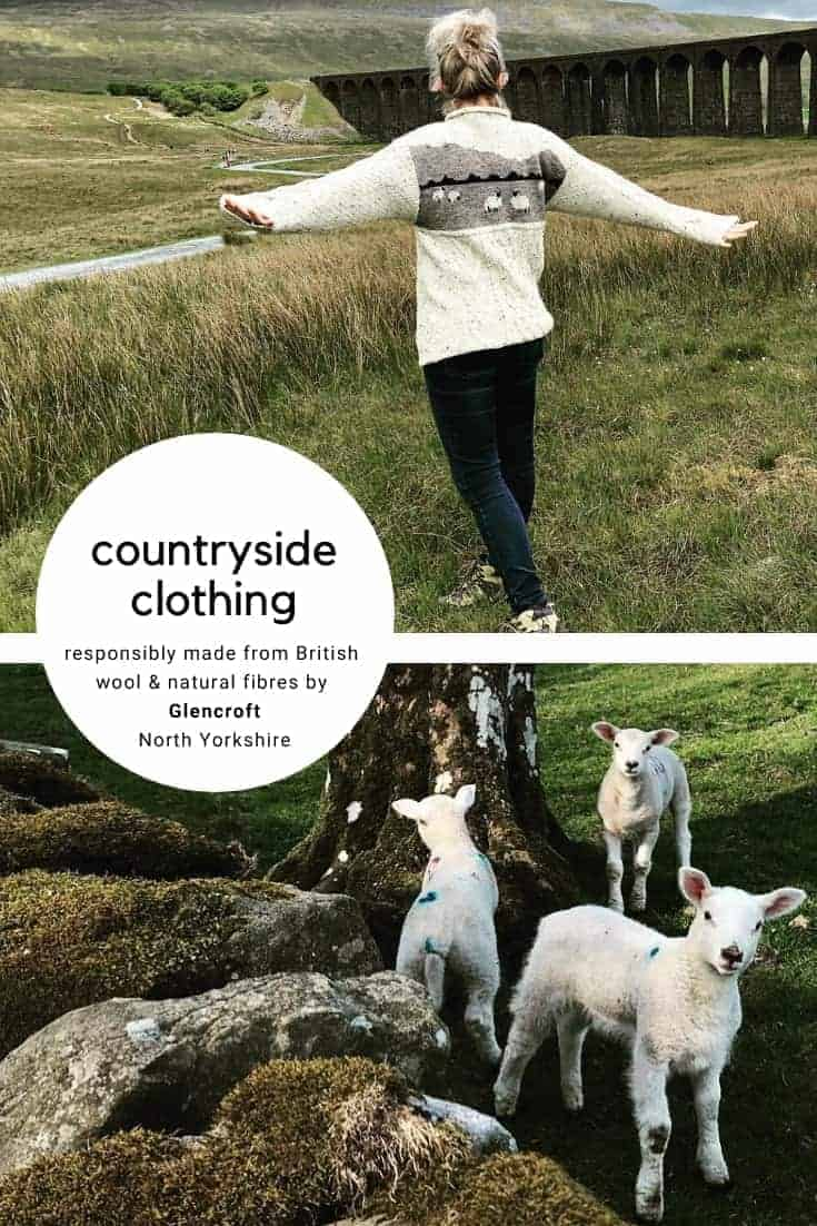discover responsibly made country wear made in Britain by Glencroft using British wool, sheepskin and Harris Tweed. Click through to get all the details you need to connect with them and find beautifully made knitwear, slippers, caps, hats and more #britishwool #yorkshire #madeinbritain #sheepskin #country #clothing #responsible #ethical