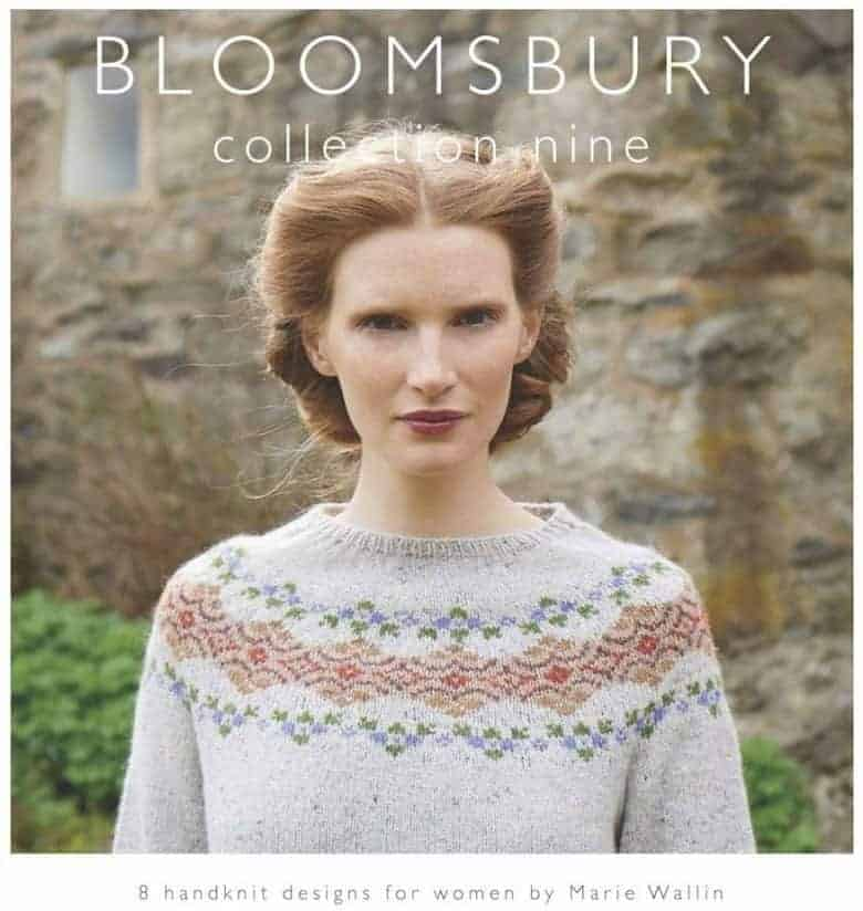 bloomsbury collection knitting patterns book marie wallin #shetland #knitting #patterns #english #mariewallin #frombritainwithlove