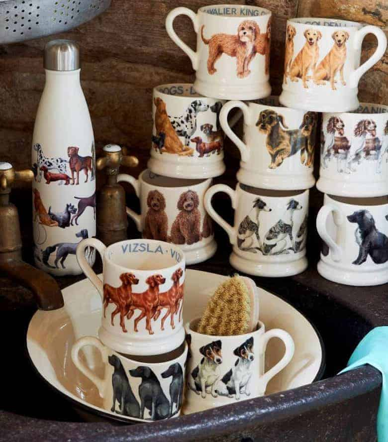 dogs and cats mugs by emma bridgewater perfect gift for pet lovers celebrating dog breeds #dogs #mug #dogbreeds #giftsfordoglovers