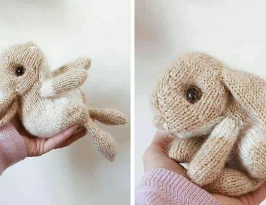 knit a rabbit video tutorial free pattern