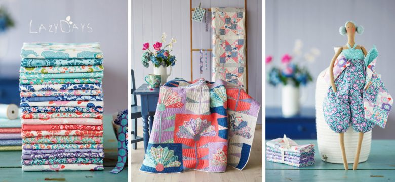 tilda lazy days fabric collection
