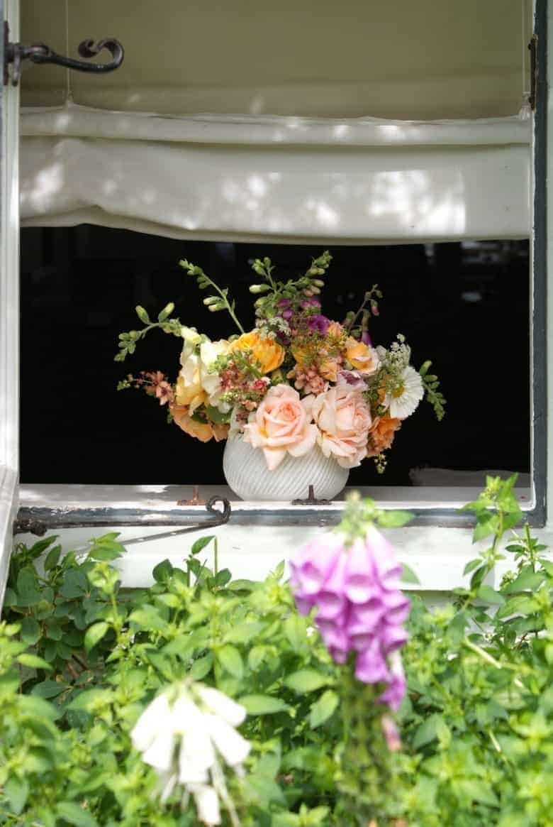 british flowers week window image